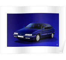 Poster artwork - Citroen XM V6 24V Poster