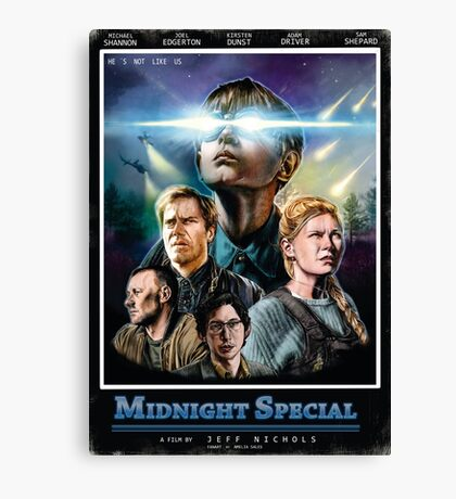 midnight special VHS Canvas Print
