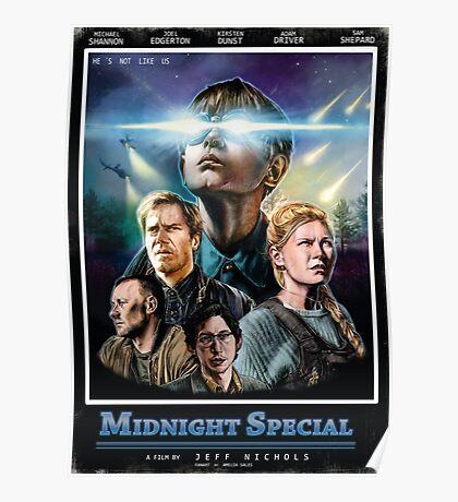 midnight special VHS Poster