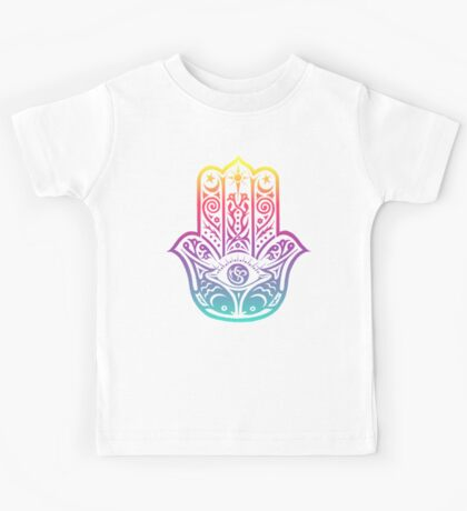 Colorful Hamsa Kids Tee