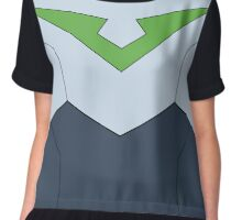 Pidge Voltron Paladin Uniform (Without Belt) Chiffon Top
