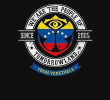 People of Tomorrowland country Flags logo Badge - Venezuela - Venezuelan - venezolano - Venezuélien - Caracas Unisex T-Shirt