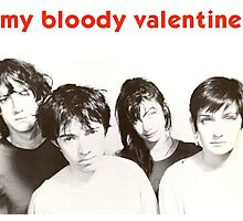 My Bloody Valentine  Photographic Print
