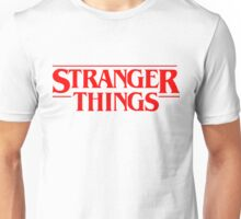 stranger things quotes Unisex T-Shirt
