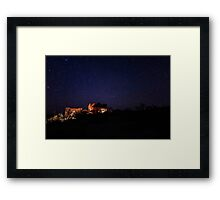Starry Night in the Southwest Framed Print