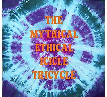The Mythical Ethical Icicle Tricycle Photographic Print