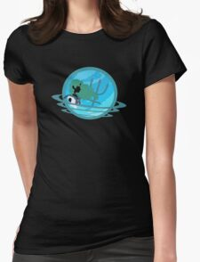 Sailor Neptune Planet Cameo Womens Fitted T-Shirt