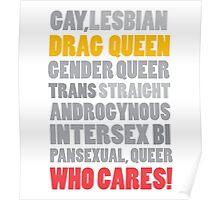 Gender Inclusion Campaign: Drag Queen Poster