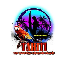 TAHITI Summer Paradise Photographic Print