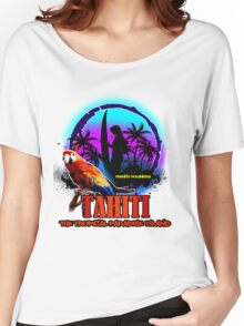 TAHITI Summer Paradise Women's Relaxed Fit T-Shirt