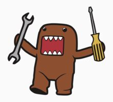 JDM Domo Monster Mechanic One Piece - Short Sleeve