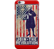 Join The Revolution Washington iPhone Case/Skin