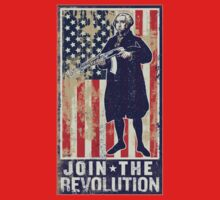 Join The Revolution Washington T-Shirt