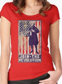 Join The Revolution Washington Women's Fitted Scoop T-Shirt
