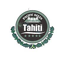TAHITI Emblem Photographic Print