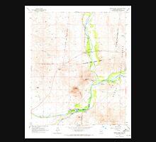 USGS TOPO Map Arizona AZ Granite Reef Dam 311546 1964 24000 Unisex T-Shirt