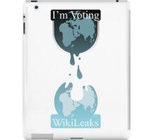 I'm Voting Wikileaks iPad Case/Skin