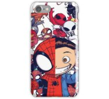 young spidy iPhone Case/Skin