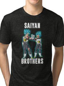 Dragonball Super - SSGSS Vegeta and Goku Tri-blend T-Shirt