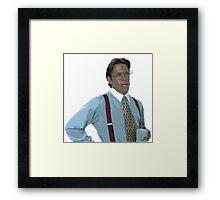 Bill Lumbergh Version 2 Framed Print