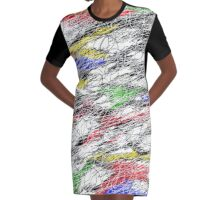 Insanity   Graphic T-Shirt Dress