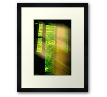 window of dreams Framed Print