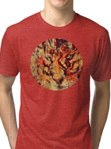 Tiger Burning Bright Tri-blend T-Shirt