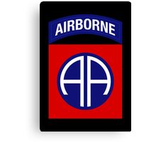 82nd Airborne Division (US Army) Canvas Print