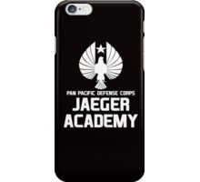Jaeger Academy - Pan Pacific Defense Corps iPhone Case/Skin