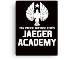 Jaeger Academy - Pan Pacific Defense Corps Canvas Print