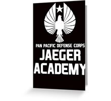 Jaeger Academy - Pan Pacific Defense Corps Greeting Card