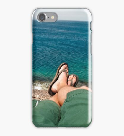 Relax on the Beach iPhone Case/Skin