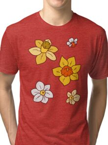 Colorful Daffodils Tri-blend T-Shirt