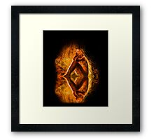 The Spirit and the Fire Framed Print