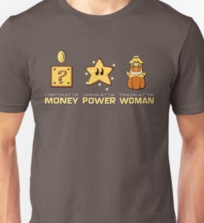 Mario Bros. Scarface - Money Power Woman Unisex T-Shirt