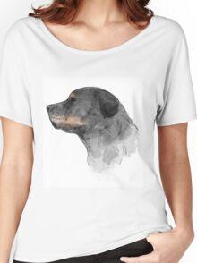 Rottweiler Dog Women's Relaxed Fit T-Shirt