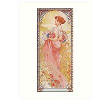Alphonse Mucha - Etesummer Art Print