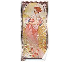 Alphonse Mucha - Etesummer Poster