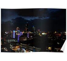 Phnom Penh Nightfall Poster