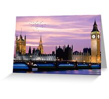 Big Be, London Greeting Card