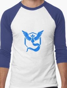 pokemon go team blue Men's Baseball ¾ T-Shirt