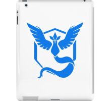pokemon go team blue iPad Case/Skin