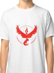pokemon go team red Classic T-Shirt