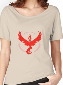 pokemon go team red Women's Relaxed Fit T-Shirt