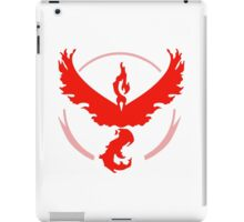 pokemon go team red iPad Case/Skin