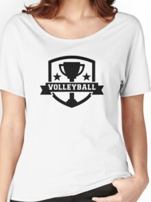 Volleyball trophy Women's Relaxed Fit T-Shirt