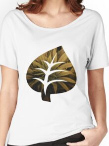 Leaf Green Women's Relaxed Fit T-Shirt