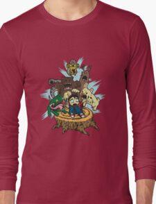 Fluffy animals Long Sleeve T-Shirt