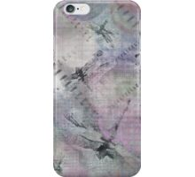 Dragonflies With Touch of Purple iPhone Case/Skin