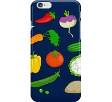 Vegetables. iPhone Case/Skin